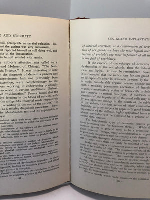 Impotence and Sterility with Aberrations of the Sexual Function by G. Frank Lydston, MD-1917
