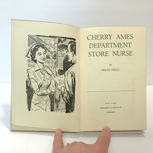 Cherry Ames  Department Nurse by Helen Wells 1956 Number Eighteen in the Series