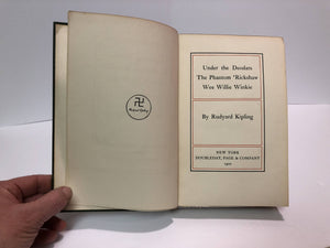 Under the Deodars etc. by Rudyard Kipling 1899 Vintage Book