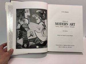 History of Modern Art by H.H. Arnason Third Edition 1986