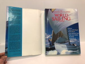 The Illustrated Encyclopedia of World Sailing by David Pelly 1989 Vintage Book