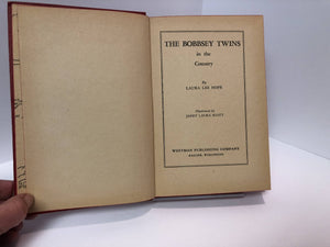The Bobbsey Twins in the Country No. 2 by Laura Lee Hope 1950 Vintage Book