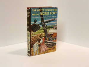 The Happy Hollisters and the Secret Fort #9 ,by Jerry West 1955 Vintage Book