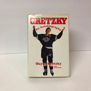 Gretzky an Autobiography by Wayne Gretzky with Rick Reilly 1990 First Edition Vintage Book