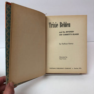 Vintage Trixie Belden and the Mystery on Cobbett's Island by Kathryn Kenny 1964 Book Number Thirteen in the Series