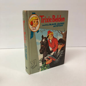 Trixie Belden and the Black Jacket Mystery Kathryn Kenny 1961 Book Number Eight in the Series Vintage Book