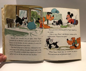 Little Golden Book Official Walt Disney's Mickey Mouse Club The Kitten Sitters 1977 A Vintage Book