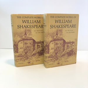 The Complete Works of Shakespeare  All the Plays and the Poems Volume 1 and 2 Vintage Books