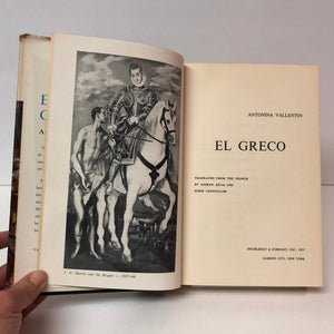 El Greco by Antonia Vallentin 1954 Vintage Book