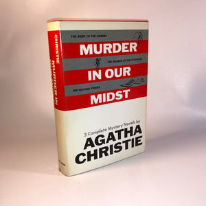 Murder in our Mist Three Complete Mystery Novel by Agatha Christie 1967 Vintage Book
