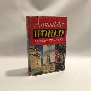 Around the World in 2,000 Pictures 1959 by Milton Runyon Vintage Book
