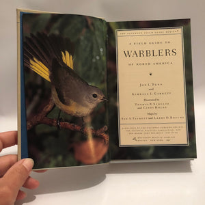 Peterson Field Guide Warblers 1997 60 North American Species  of Warblers are Described in Detail with Color Paintings