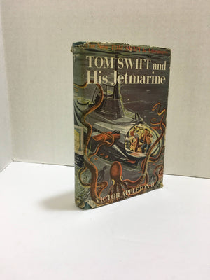 Tom Swift and His Jetmarine by Victor Appleton 1954 Vintage Book