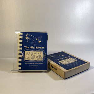 1953-The Big Spread An Encyclopedia of Hor's D'oeuvres & Canapes In Original Box by Ruth Rosen