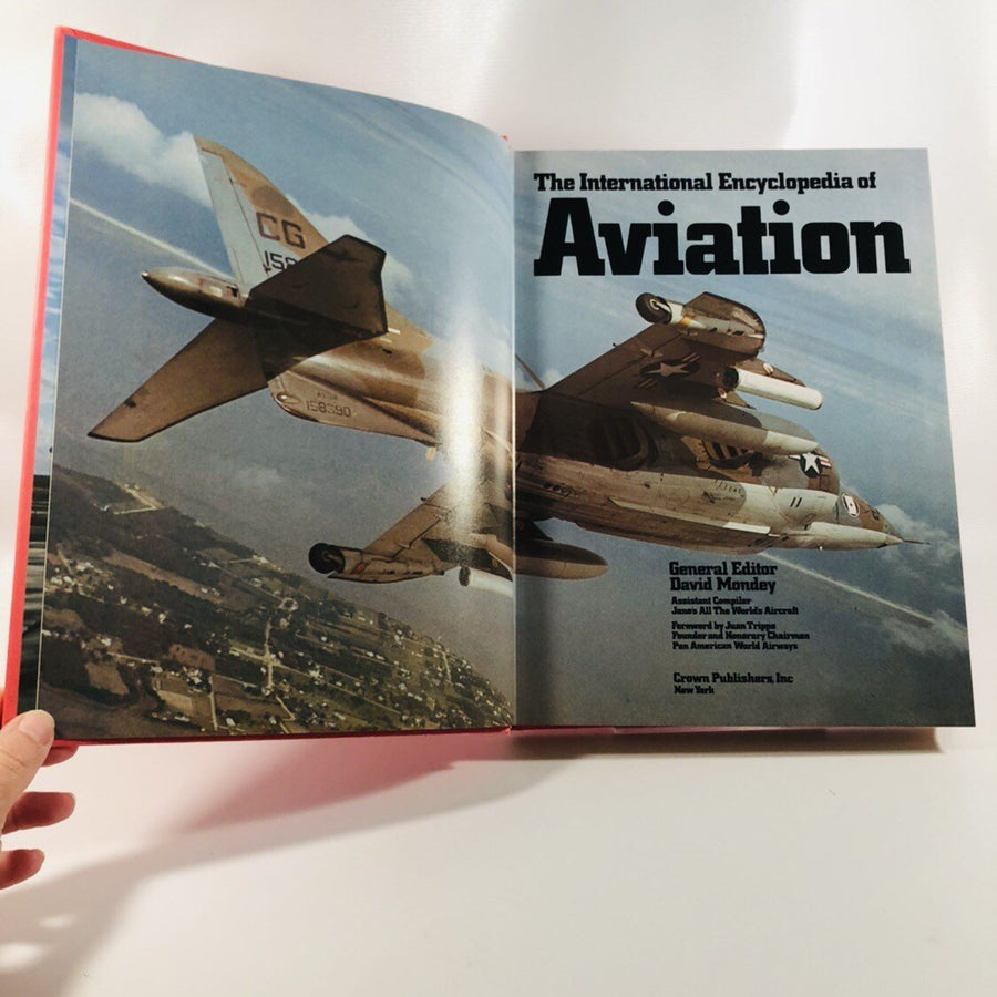 The International Encyclopedia of Aviation 1983 Large Coffee Table Book
