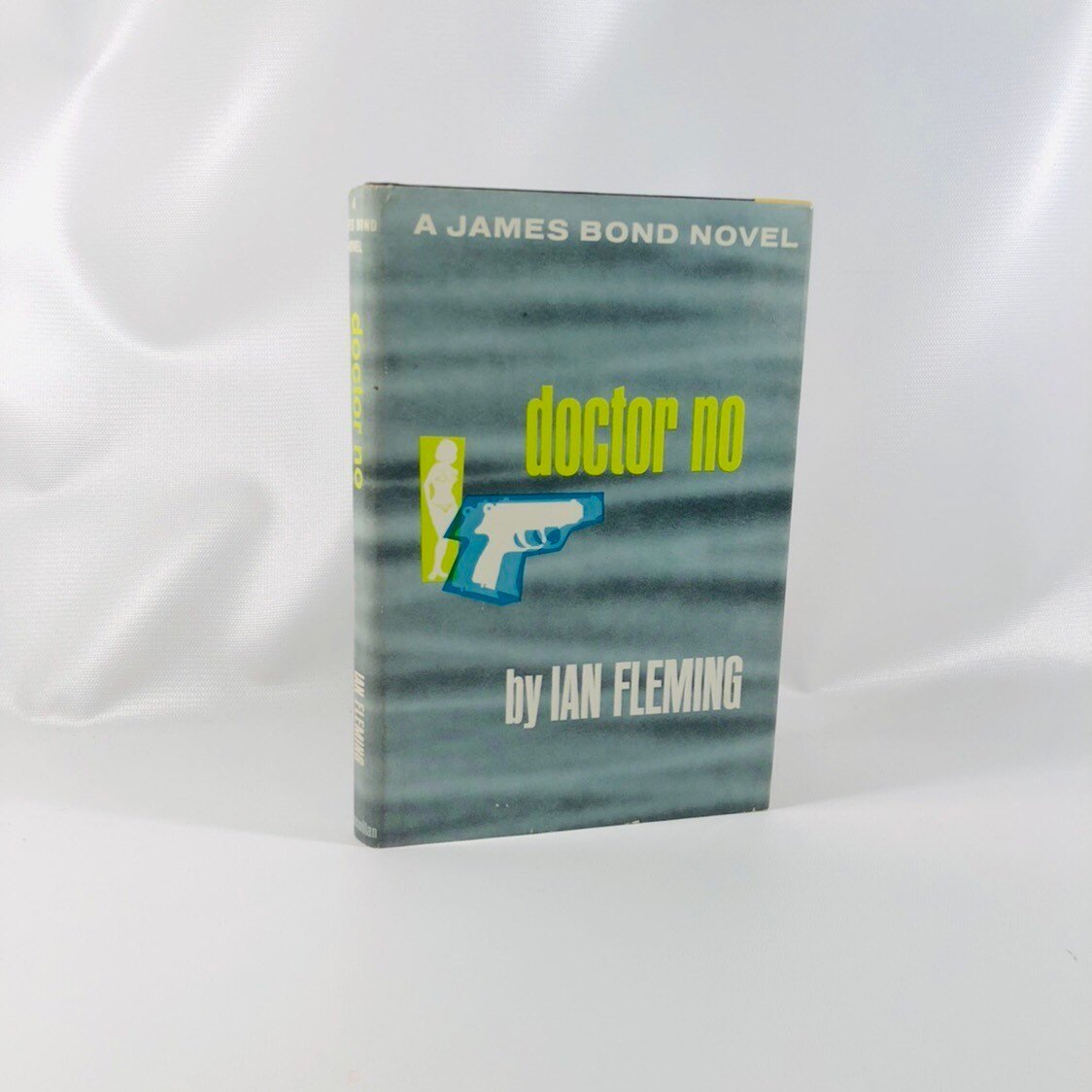 James Bond Novel, Doctor No by Ian Fleming 1958 Book Number 6 in the Series Vintage Book