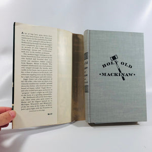 Holy Old Mackinaw by Stewart H. Holdbrook 1957 with Original Dust Jacket