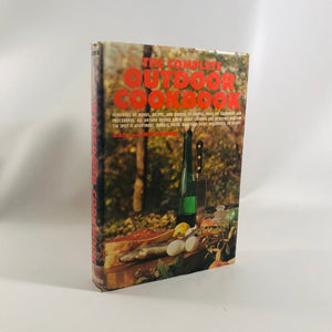 The Complete Outdoor Cookbook by Dan and Inez Morris 1970 Vintage Book