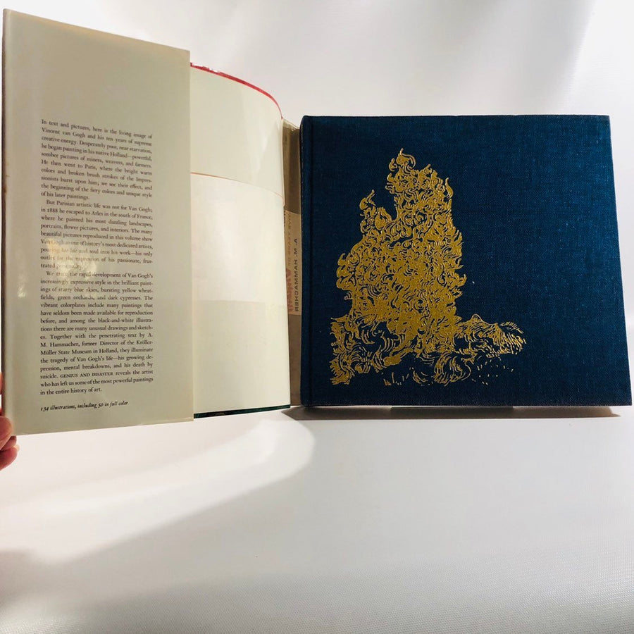 Vintage Genius and Disaster The Ten Creative Years of Vincent Van Gogh by A.M. Hammacher 1968 Printed and Bound in Japan