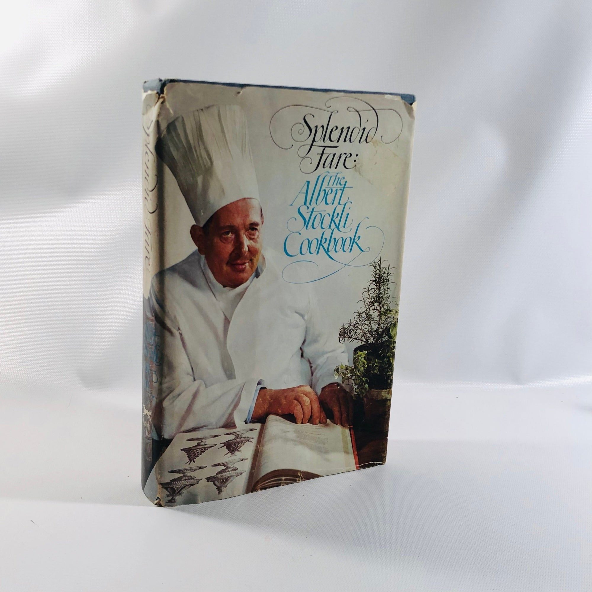 Splendid Fare: The Albert Stockli Cookbook Drawings by Bill Goldsmith 1970