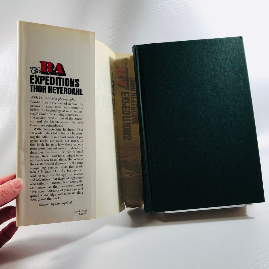 The RA Expeditions  by Thor Heyerdahl 1971 Vintage Book