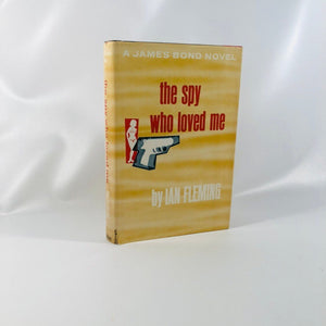A James Bond Novel The spy who loved me by Ian Fleming 1962 Vintage Book