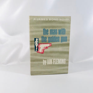 James Bond Novel, the Man with The Golden Gun by Ian Fleming 1965 Book Number 13th in The Series Vintage Book