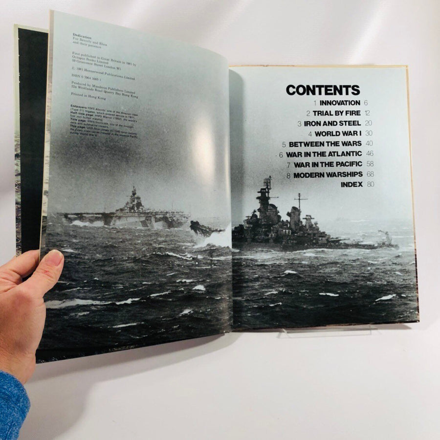 Warships, From Early Steam to Nuclear Power by Norman Polmar & Norman Friedman 1981 Vintage Book
