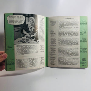 Vintage Advertising Pamphlet Aunt Jennys Favorite Recipes Circa 1930's Vintage Book