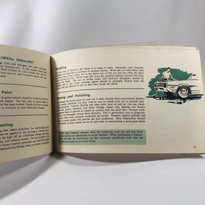 Vintage Oldsmobile 1967 Car Owners Manual for The Delta 88 Custom, Delmont 88, Oldsmobile A Division of General Motors of Lansing Michigan