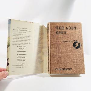 The Lost City by John Blaine 1947 Book 2 in The Rick Brant Electronic Adventure Vintage Book