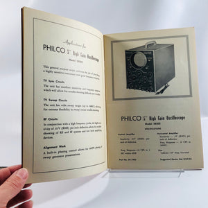 Advertising Manual for Philco Test Equipment Line June 1953