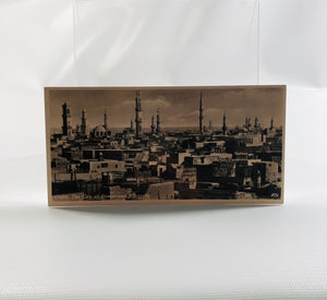 Postcard Souvenir of Egypt, Cairo Views The City of Domes and Minarets 1940's Era Series H Number 401