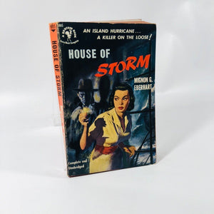 Vintage Paperback House of Storm by Mignon G. Eberhart 1951 Bantam Book Number 851