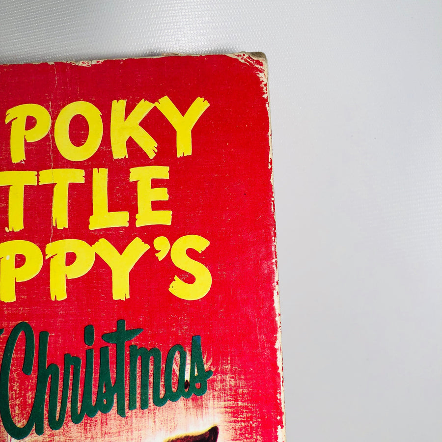 The Poky Little Puppy's First Christmas by Adelaide Holl Little Golden Book 1979