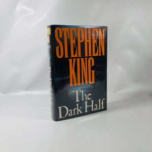 The Dark Half by Stephen King First Edition 1989 A Vintage Horror Book