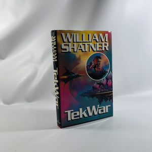 Tek War by William Shatner 1989 Limited First Edition