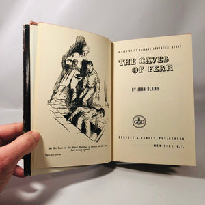 The Cave of Fear by John Blaine 1951 The 8th Book in the Rick Brant Science-Adventure Story