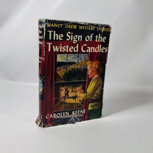 Nancy Drew Mystery Stories The Sign of the Twisted Candles by Carolyn Keene 1933 A Mystery Series