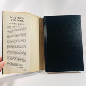 By the Pricking of My Thumbs by Agatha Christie 1968 A Vintage Mystery Book