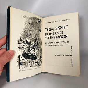 Tom Swift in the Race to the Moon by Victor Appleton 1958 The New Tom Swift Jr. Adventures