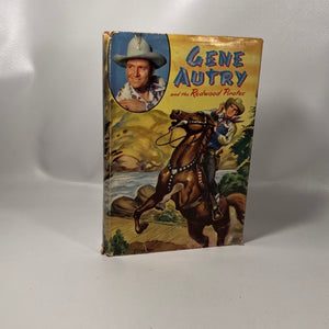 Gene Autry and the Redwood Pirates by Bob Hamilton Illustrated by Erwin Hess 1946 First Edition Vintage Book