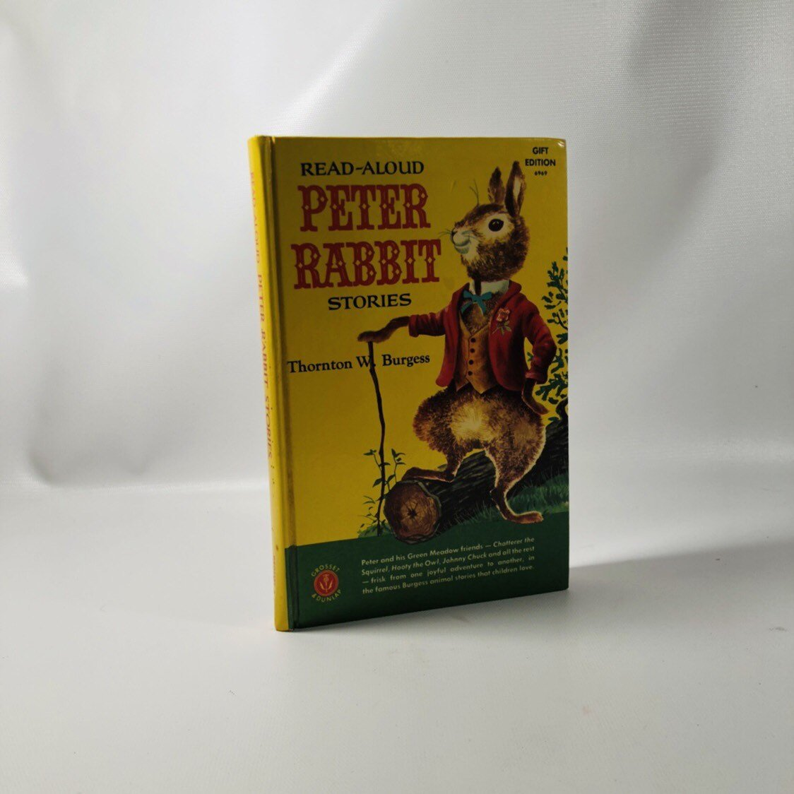 Read-Aloud Peter Rabbit Stories by Thornton W. Burgess 1958 A Vintage Children's Book