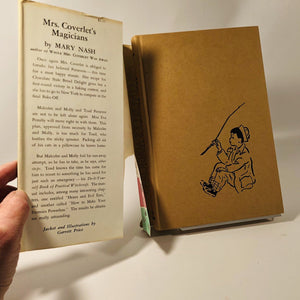 Mrs. Coverlet's Magicians by Mary Nash 1961 A Vintage Children's Book