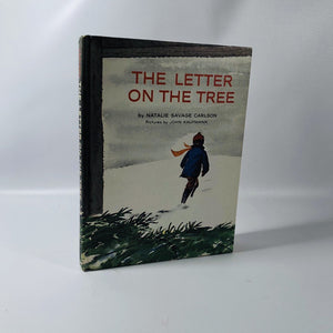 The Letter on the Tree by Natalie Savage Carlson 1964 A Vintage Children's Book