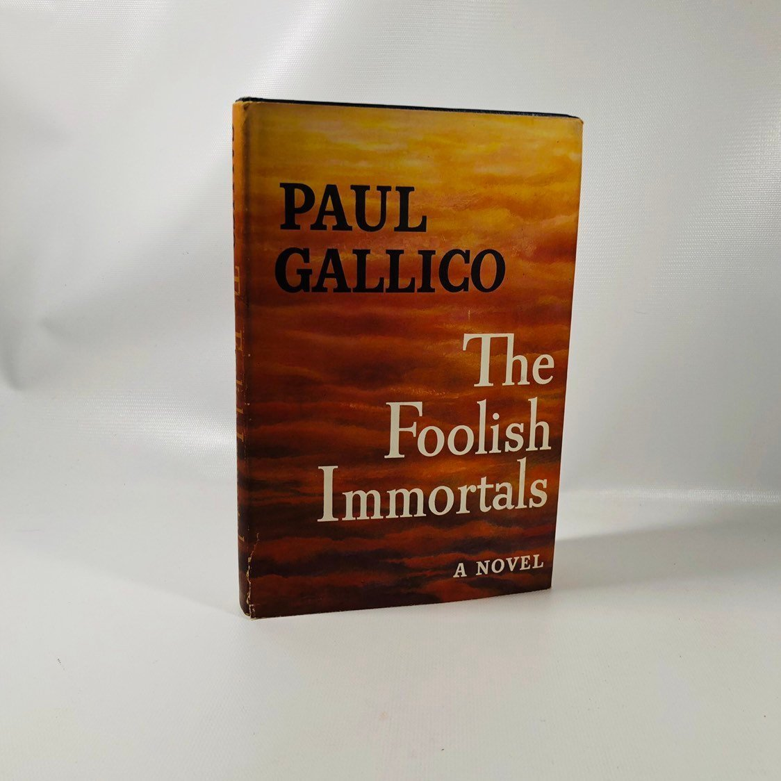 The Foolish Immortals by Paul Gallico 1953 A Vintage Novel