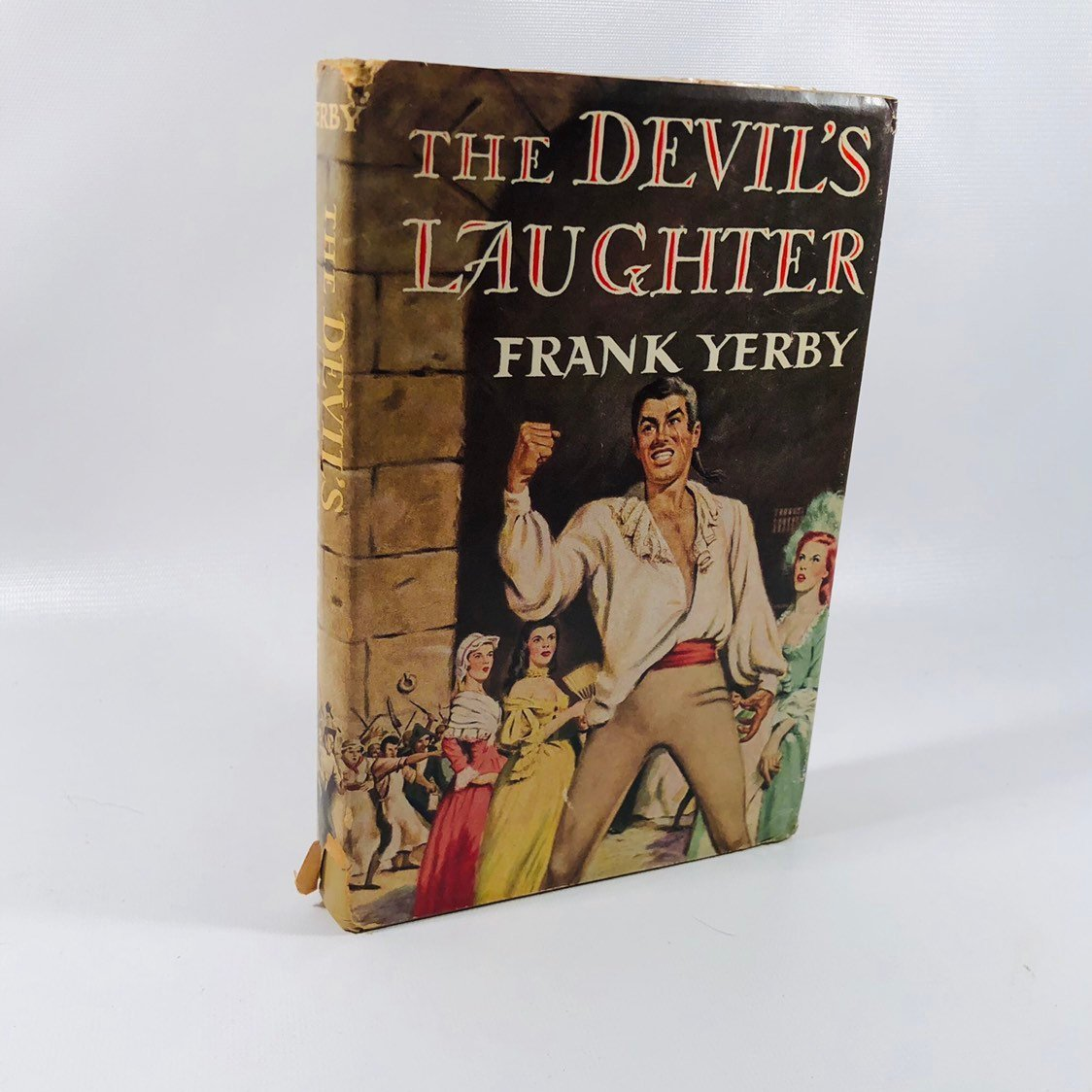 The Devil's Laughter by Frank Yerby 1953 A Romance Set during the French Revolution