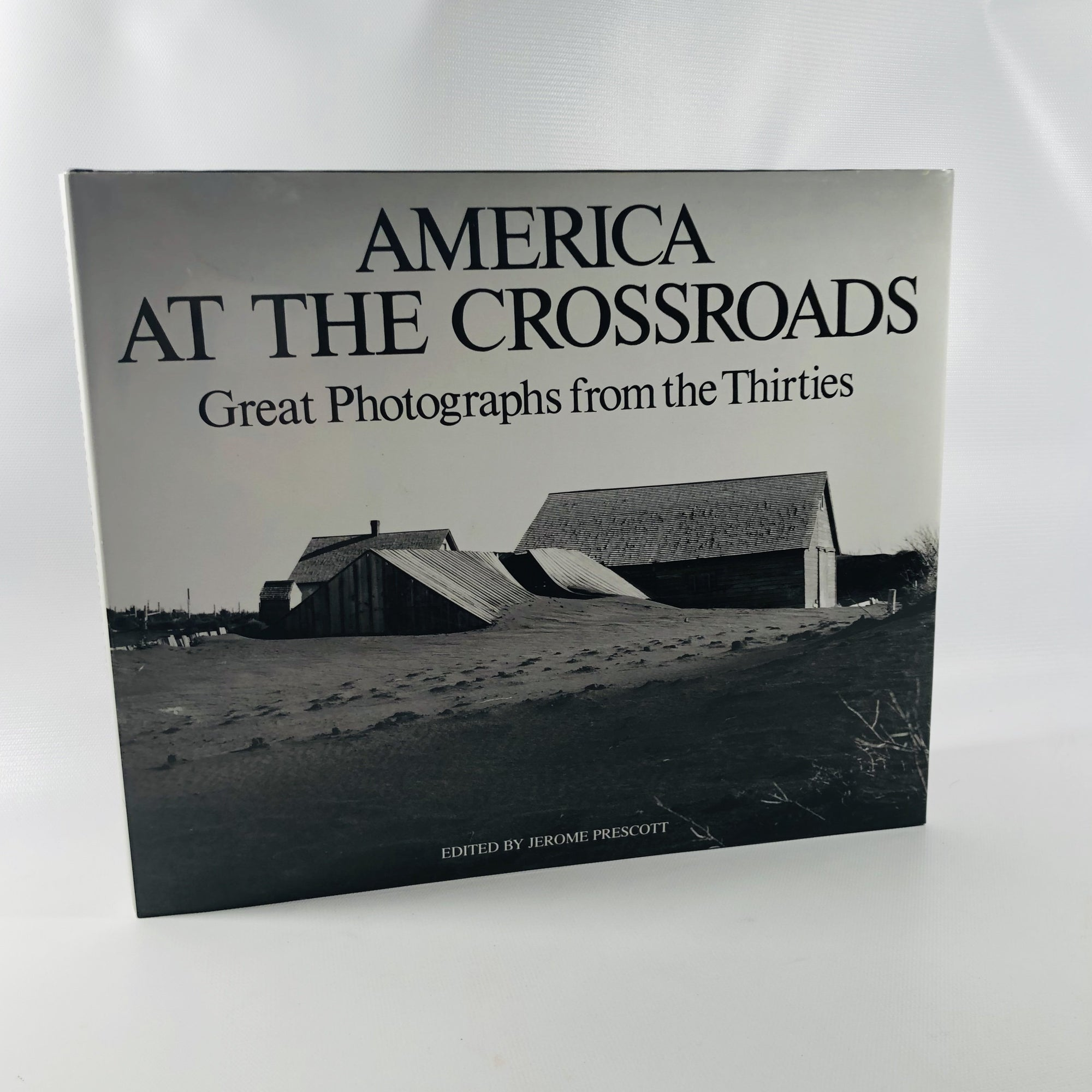 America at the Crossroads Great Photographs from the Thirties Edited by Jerome Prescott 1995