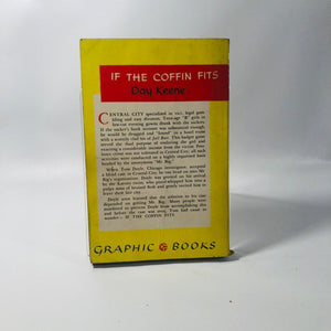 Vintage Paperback If the Coffin Fits by Day Keene An Graphic Original 1952