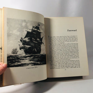 Peter Freuchens Book of the Seven Seas 1957 A Vintage Book of the Seas